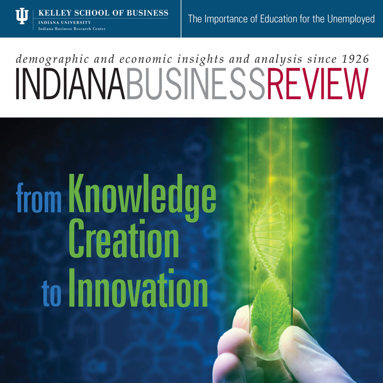 An image of the Indiana Business Review cover